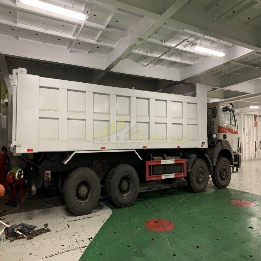 To DR Congo-1 Unit North Benz 8x4 420hp Dump Truck