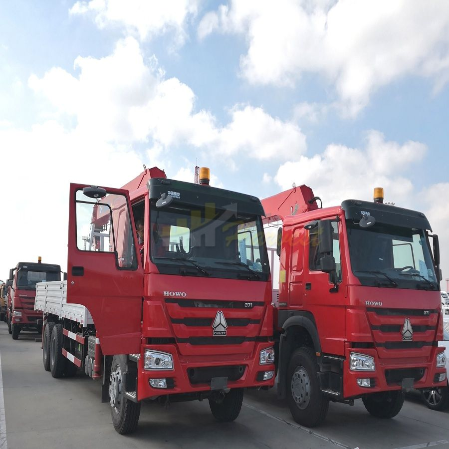 To Middle  East-5 Units 10T Truck-mounted Crane