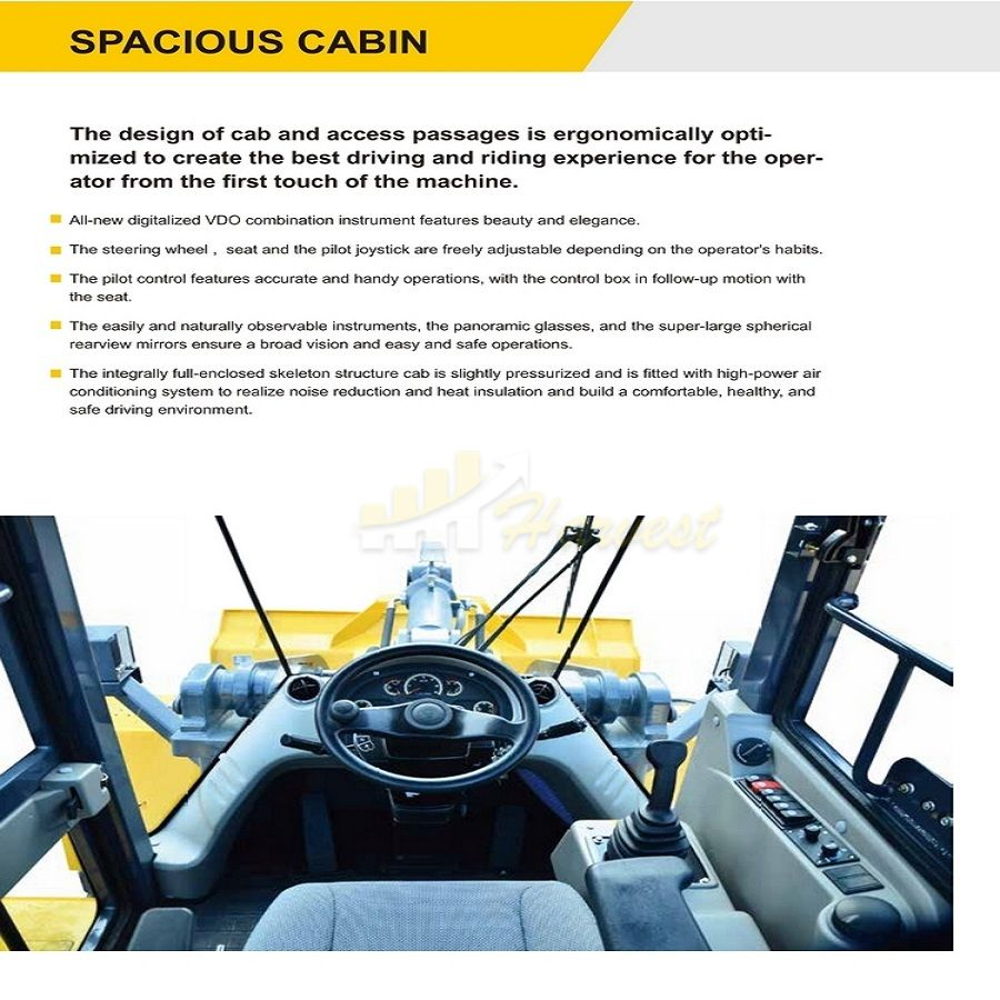 XCMG Latest ZL50GN 5t Wheel Loader