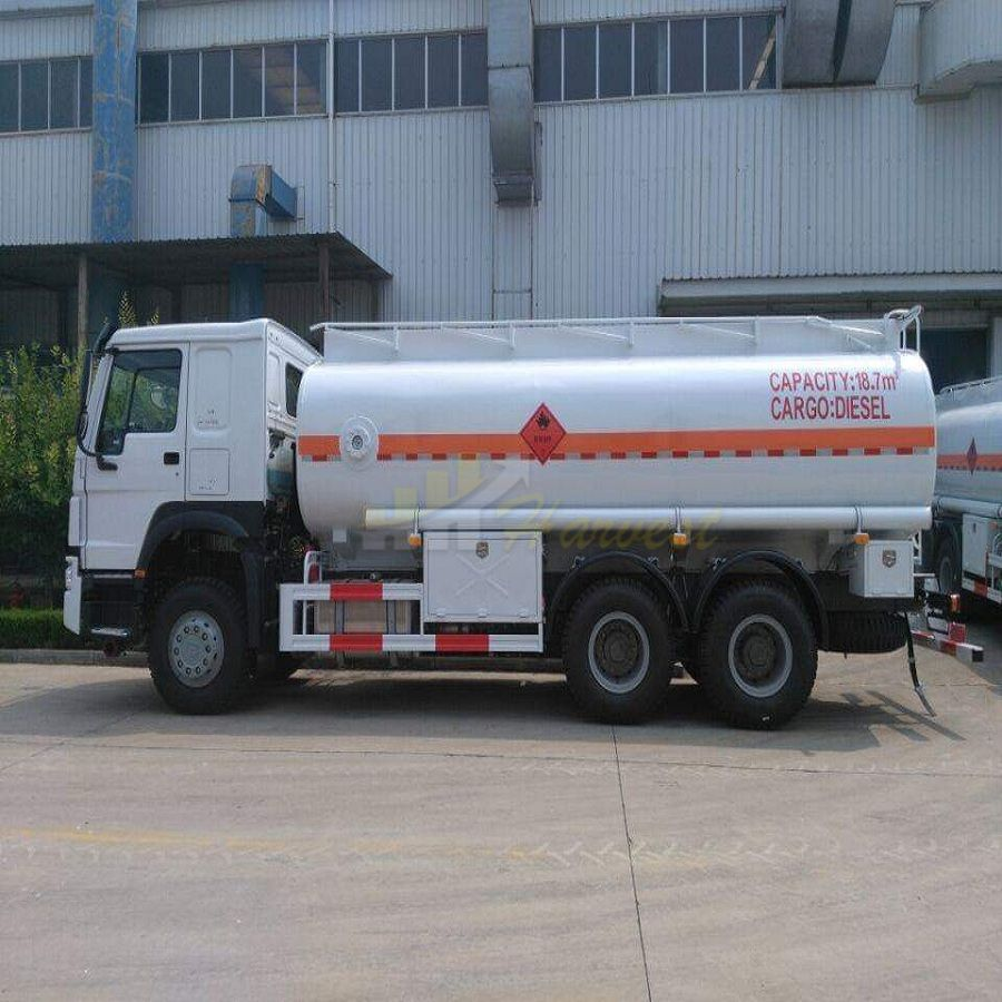HOWO 290hp 20,000 Liters Fuel Tank Truck
