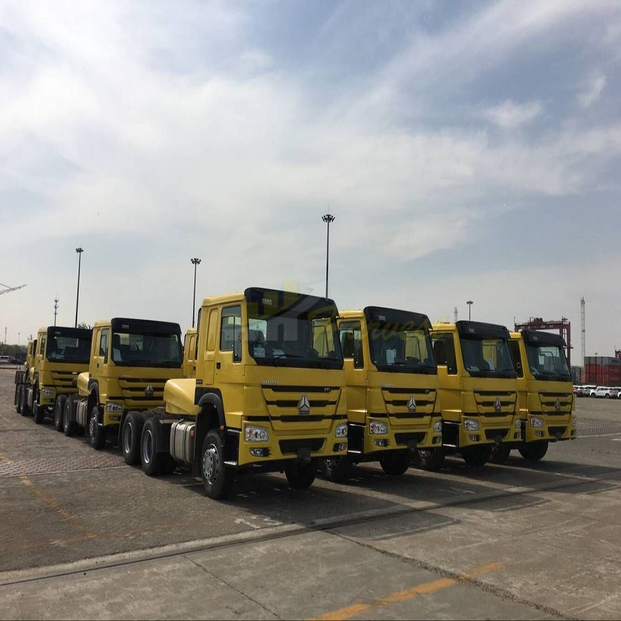 HOWO 371hp Prime Mover