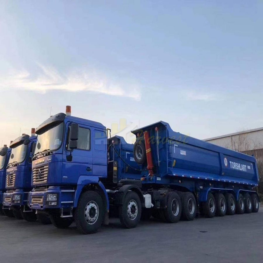 Good Price 70 Ton 45cbm Tipper Trailer from China