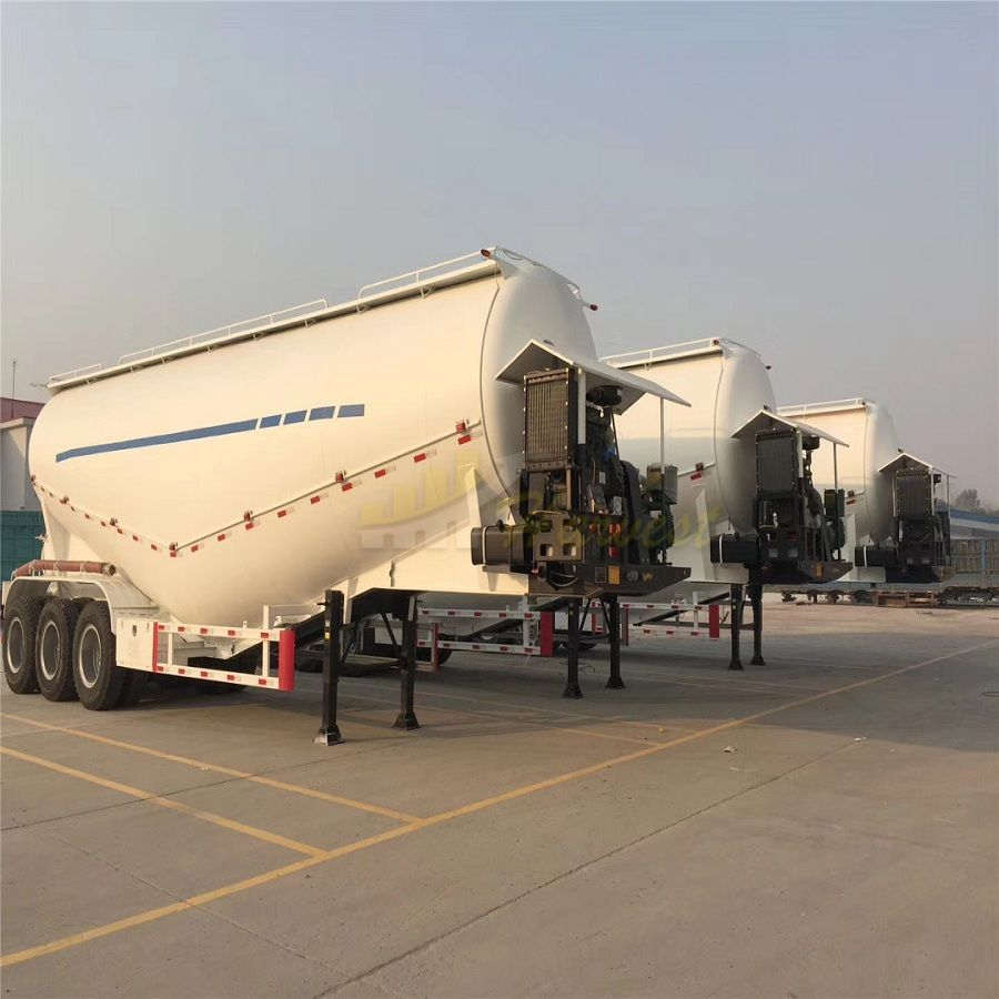 China Brand New 40cbm Bulk Cement Powder Tank Semi Trailer