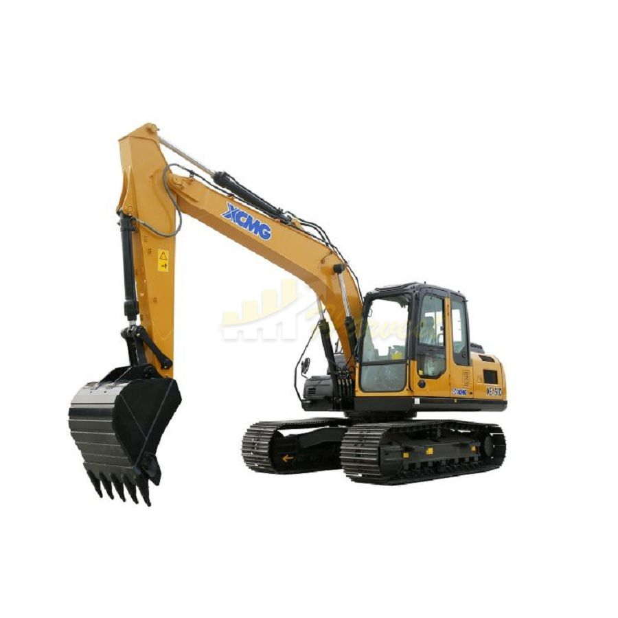 XCMG 15t XE150D Crawler Excavator with Cummins Engine