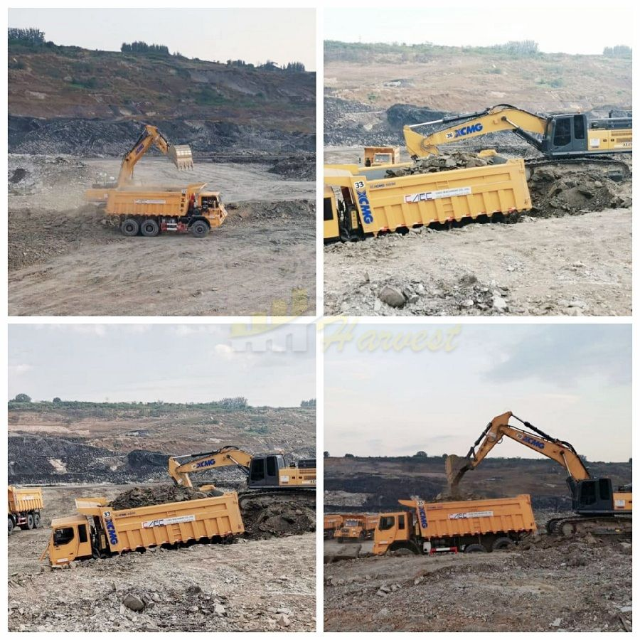 XCMG 49ton 2.5m3 Large Hydraulic Excavator XE490D for Mining