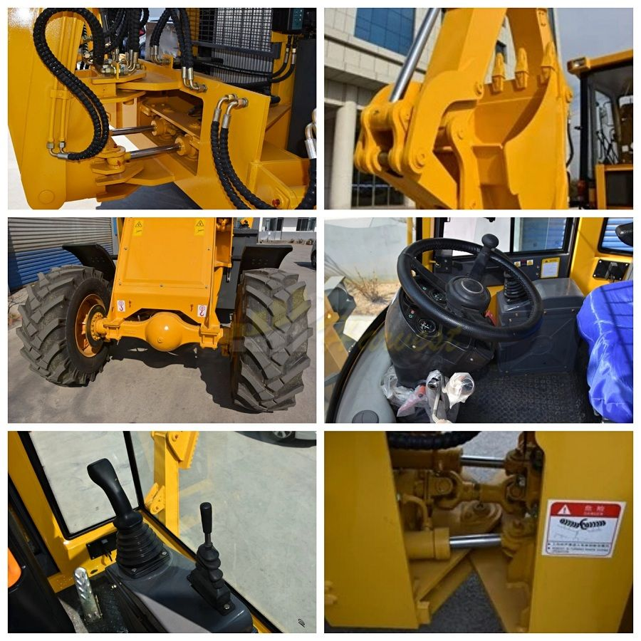 China Low Price MR30-25 Mini Backhoe Loader WZ30-25