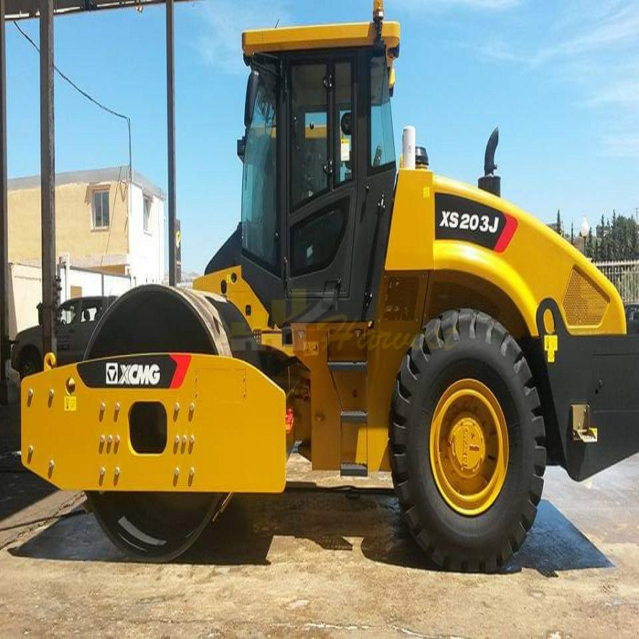 XCMG 20 Ton XS203J  Single Drum Vibratory Road Roller Compactor