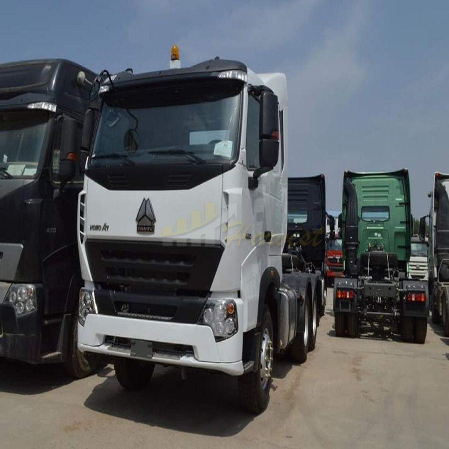 HOWO A7 10 wheelers 420hp Tractor