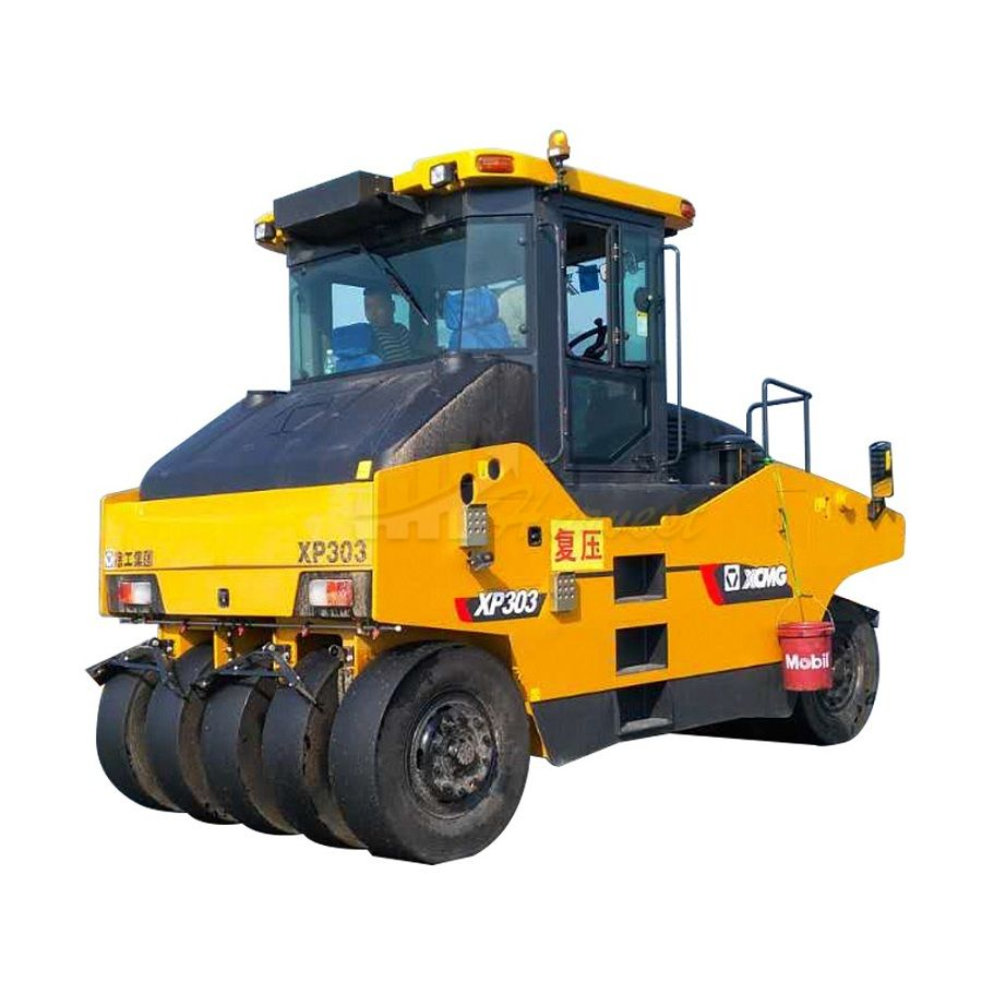 XCMG 30ton XP303 Road Roller Compactor Tyred Roller