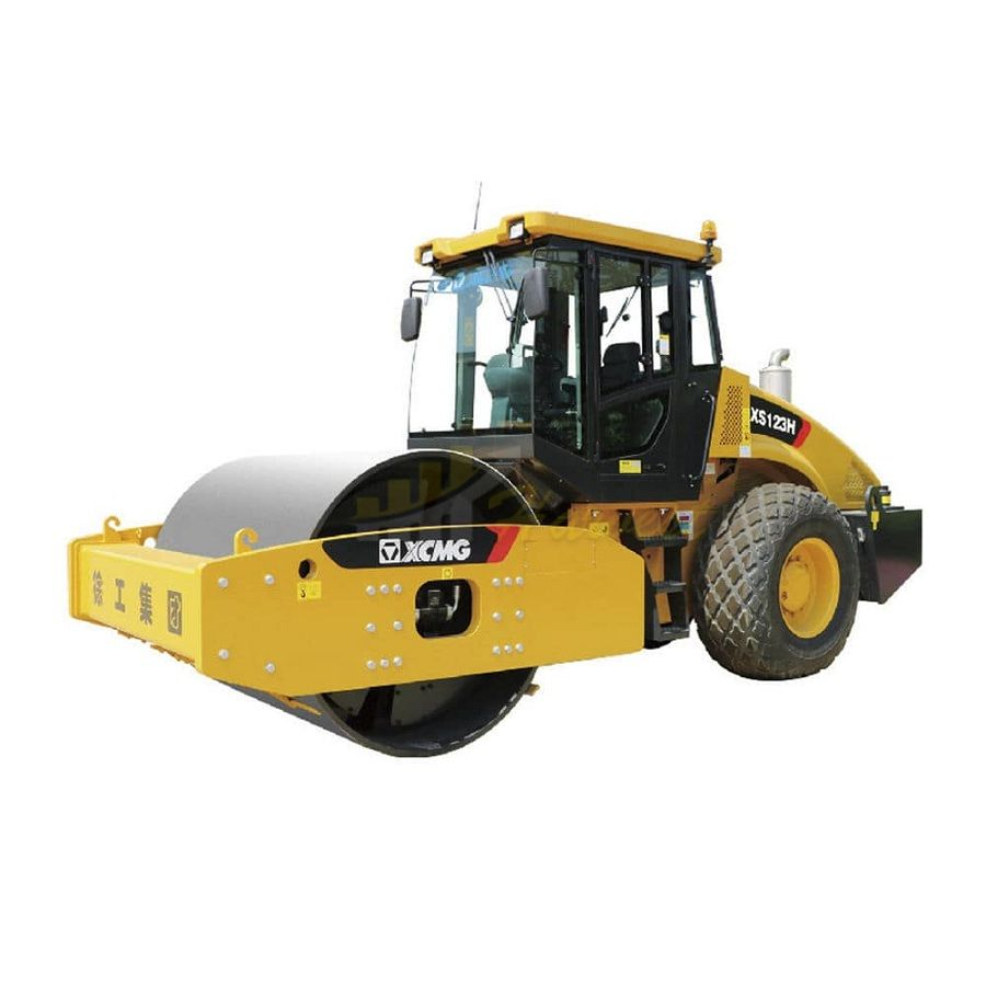 12 Ton Hydraulic Compactor XS123H New Vibratory Road Roller