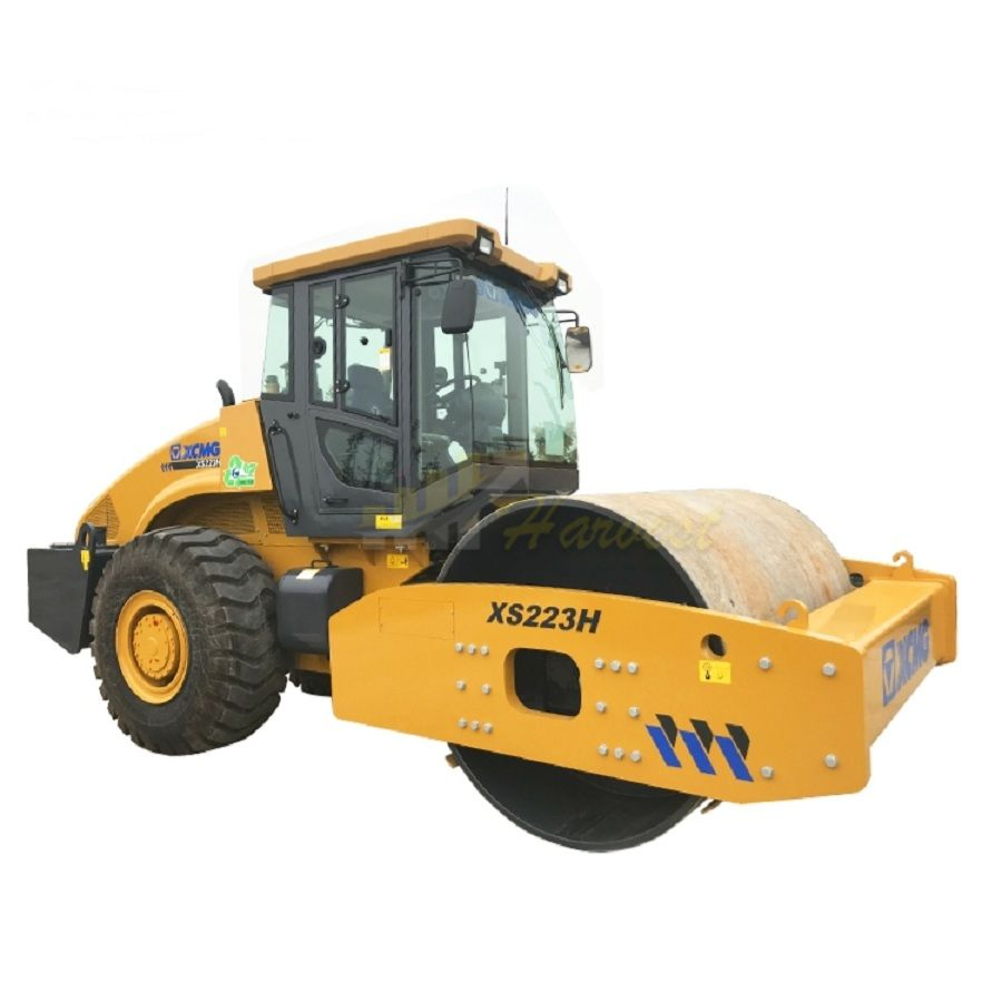 22ton Single Drum XS223H Vibration Compactor Road Roller
