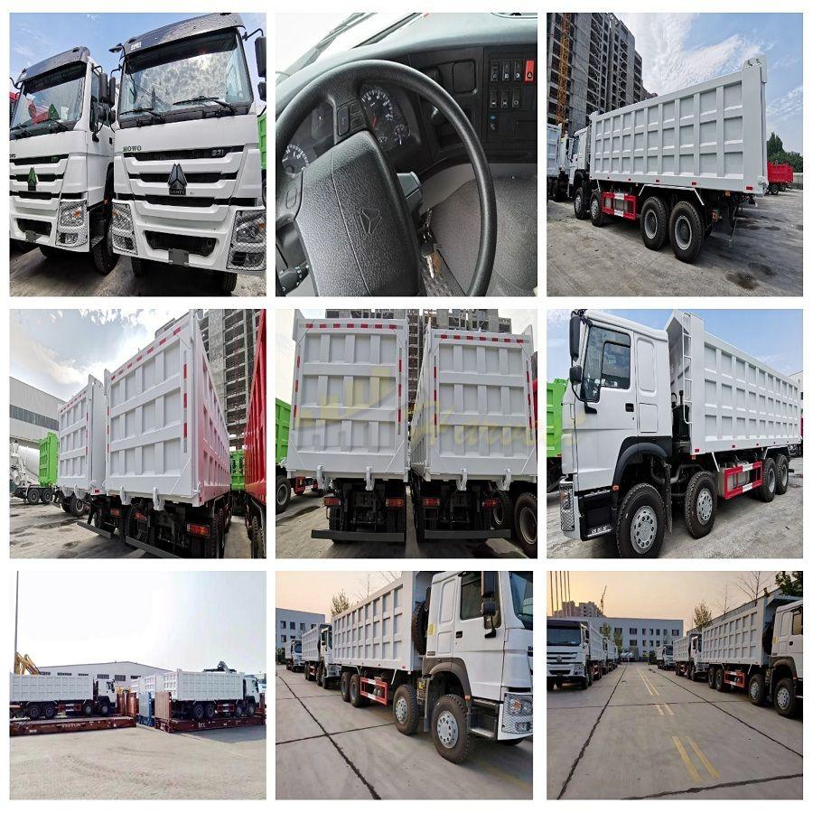 Howo Truck 8x4 40 ton with Big Box