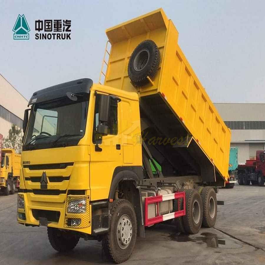 Sino Trucks right hand 371hp New Tipper