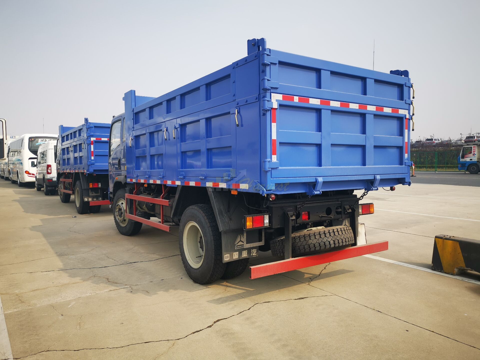 Sinotruk Homan Dump Truck export to Congo Africa