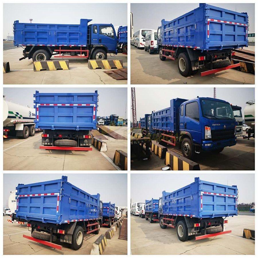 2 Units Sinotruk Homan Dump Truck shipped to Congo